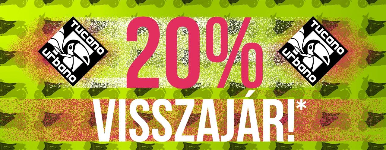 Tucano Urbano - 20% visszajár!